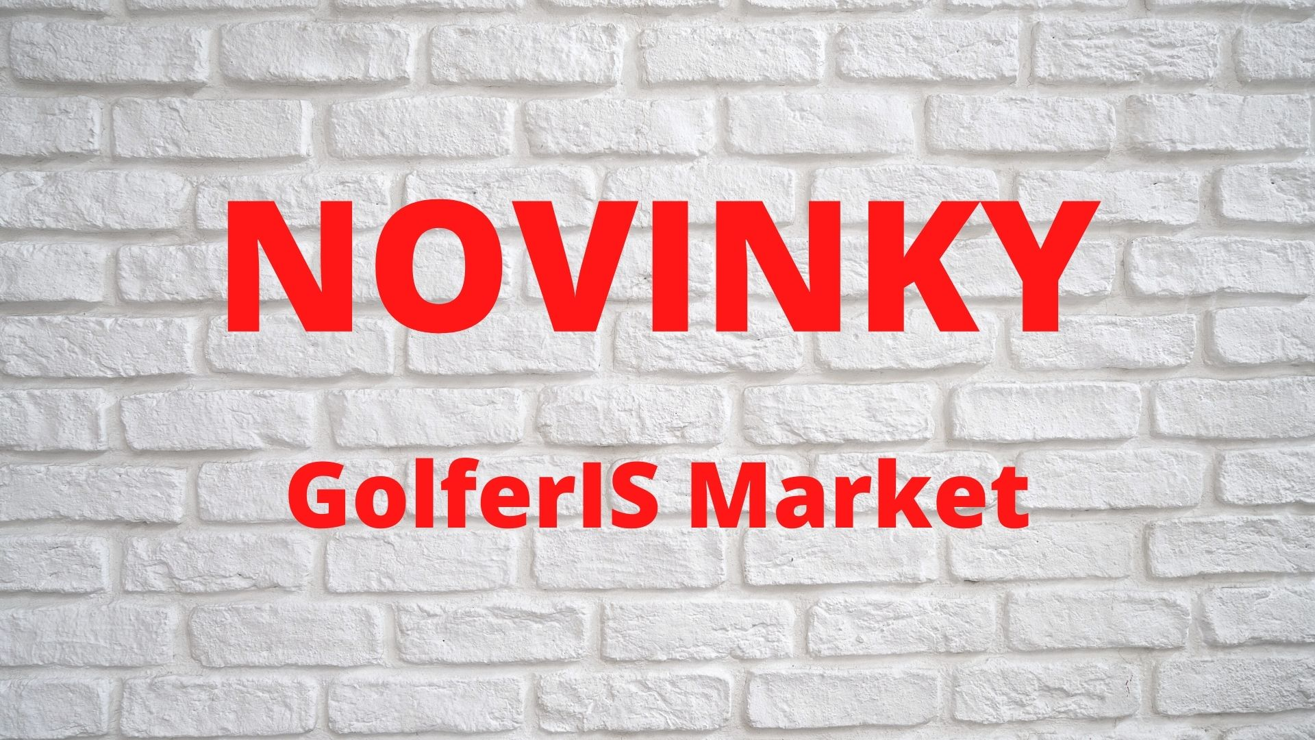 Aktualizace a novinky v GolferIS Market{lang}{lang}{lang}