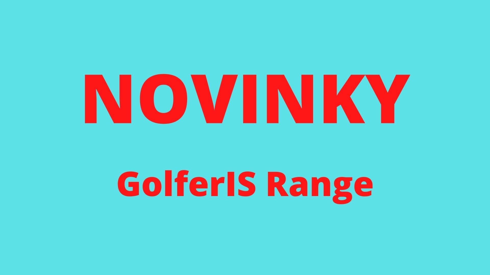 Aktualizace a novinky v GolferIS Range{lang}{lang}{lang}