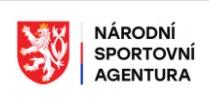 Export členů pro Národní Sportovní Agenturu{lang}{lang}{lang}